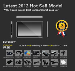 Wholesale NEW quot HD GPS GB MEMORY CAR NAVIGATION WIRELESS REVERSE CAMERA FREE LIFETIME MAPS UPDATES