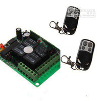 Wholesale Four Button Universal Remote Control and Channels wireless module Kit