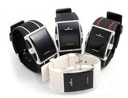 Unisex Korea Fashion Intercrew Led Electronic Watch Women's Lady Mens Rubber Men's Sport Watches