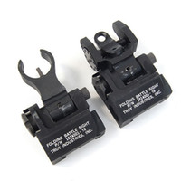 Wholesale Tactical Troy Front and Rear Folding Battle sight HK Style Black