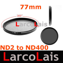 Wholesale New Easy To Adjust mm Fader Variable ND Filter ND2 to ND400 Adjustable Neutral Density