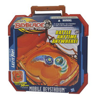Wholesale NEW BEYBLADE METAL FUSION MOBILE BEYSTADIUM STADIUM ARENA BATTLE ANYWHERE