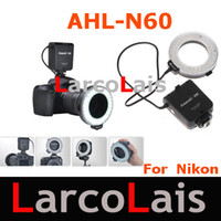 Wholesale Aputure AHL N60 LED Video Lights LED Photo flash light Ring Light Macro Flash for Nikon