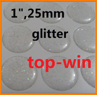 Wholesale 1000pcs quot clear epoxy adhesive circle stickers glitter Self Adhesive Sticke D effect
