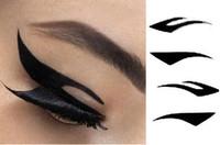 Wholesale New Arrival sets Vintage Eye liner Sticker Shadow Sticker Smoky Eyes Sticker eyebrows stickers