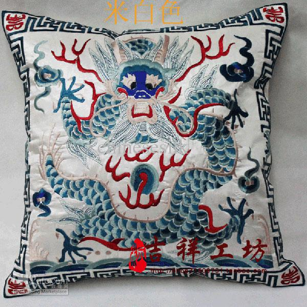 Handmade Cushion Covers 18 Inch High End Chinese Style