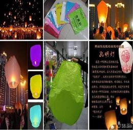 Wholesale SKY UFO Balloon Kongming Flying Lanterns Wishing Lamp