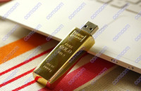Wholesale GB GB gold bar usb flash drive drives memory stick pen drive Pendrives