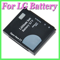 Wholesale Mobile battery LGIP A for LG mobile phone KC780 KF700 Renoir KC910 Viewty Vu