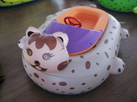 bumper boat - ohlees professional factory design custom made Fast custom new Inflatable Bumper Boats Cat boat cartoon boat by express
