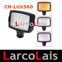 Wholesale CN LUX560 LED Video Light Lamp For Canon Nikon Camera DV Camcorder