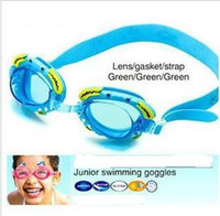 Wholesale Crab crab children swimming goggles mirror cartoon prevent mist goggles men and women and children