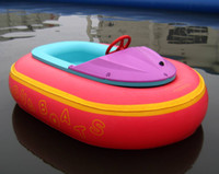 Wholesale Fast custom new Inflatable Bumper Boats Red Boats children boat by express