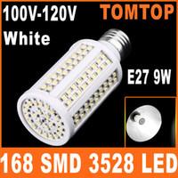Wholesale E27 W SMD LED Corn Light Bulb Lamp White Lighting LM V V Energy Saving H8438W