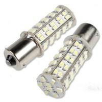 Wholesale White LED BA15S P21W Car Turn Brake Reverse Tail Singal Indicator Light Bulb Lamp