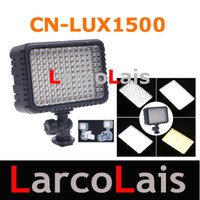 Wholesale 7 W CN LUX1500 LED Video Camera Light For Camera Camcorder DV