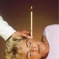 Wholesale Indian Supreme Ear Candles With Earplug Fragrance Ear Candle Straight Type Color pair