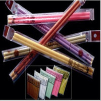 Wholesale Indian Supreme Ear Candles With Earplug Fragrance Ear Candle Straight Type Color pair freeshipping