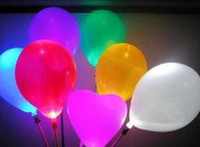 Wholesale 50pcs Colorful LED light balloons flash balloon hot sell toys LED light stick Children s toy