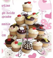 FDA cupcake stand - 4 tier Tower Cupcake Tree Cupcake Stand Dessert Birthday Baby Bridal Shower Party quot NEW
