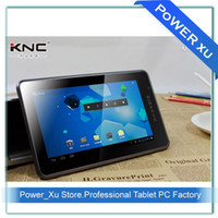 "KNC 7 inch Cortex-A8  KNC MD710 7"" Android 4.0 Tablet PC HDMI 2160P 0.3MP camera 2pcs lot Made in China"