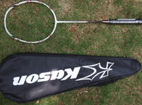 Wholesale kason badminton racket C7 carbon fibre lbs pieces