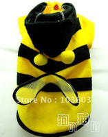 Wholesale The New Autumn and Winter Bee turned loading Pet clothes Cats and Dogs clothing F