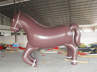 Wholesale Fast custom new Inflatable cartoon animal inflatable model horse by express
