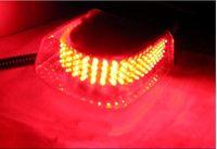 Wholesale 240 LED Car Auto Roof Flash Strobe Magnetic Emergency Light Shell Flashing Lights LED Emergency Lights