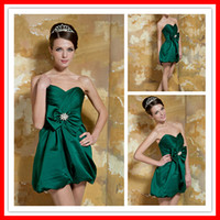 Sexy Mini Sweetheart Green Short Actual Real Prom Dress Part...