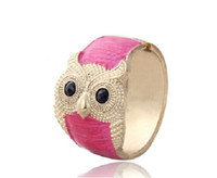 Wholesale Owl Bracelet Fashion Bangle Jewelry for Unique Girl