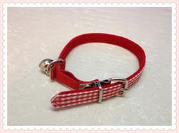Wholesale classic cat collar soft velvet liner elastic belt with silver bell