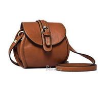 Wholesale 30 OFF Korean woman Brown Leisure Rivet Double Cosmetic Bags Camera Bag crossbody Shoulder bag Wallet