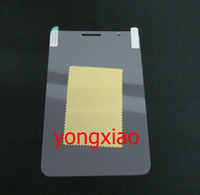 Wholesale Crystal screen protector for Samsung Galaxy Tab2 P3100 HD clear skin no retail package