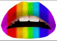 Wholesale Top Selling Colors Lips lip tattoo Temporary Tattoo Sticker Mix Pieces Discounts Price