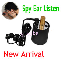 Wholesale Wall Ear Audio Listening Bug Spy Amplifier Device Door Inspector Gadget