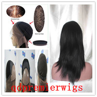 natural straight natural color Indian hair Affordable Full Lace Wig Natural Straight 14-18inch Natural Color Indian Remy Human Hair Cheap Price