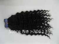 Wholesale Brazilian virgin hair human hair products deep weave inches natural color DHL freeshipping goo