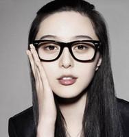 Wholesale women s girl s Nail HOT Fashion Cool Clear Lens Frame Nerd Glasses