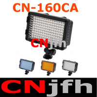 Wholesale CN CA LED Video Light for DSLR SLR DV Camcorder Lighting K K LM for Canon Panasonic