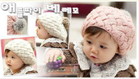Girl crochet toddler beanie - HANDMADE Cotton Baby s Crochet Hat Beanie Cap Mixed hot Toddler Girl hats POP Kids s Girl Hat Caps