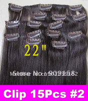 Wholesale Retail Virgin Brazilian Factory Outlet Price A quot OK quot Remy Human Hair Clip In Extensions