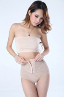 Cheap slim body shaper pants with 3row extenders 3pc lot Free shipping via China post