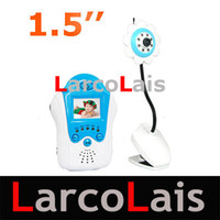 Wholesale 2 G inch portable cordless flowerlike wireless camera baby monitor
