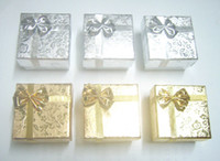 Wholesale Mix Color Jewelry Packaging Ring Earring Gift Box For Fashion Jewelry Gift x5x3cm BX7