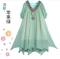 Wholesale Maternity dress pregnant women s skirt chiffon skirt color size