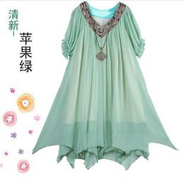 Wholesale Maternity dress pregnant women s skirt chiffon skirt color size