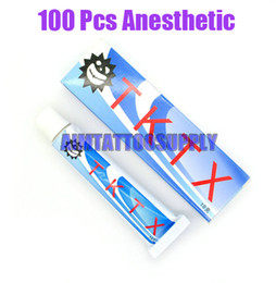 Wholesale 100 Tubes TKTX Numb g tattoo numbing cream anesthetic For Tattoo amp Hair Removal hot sale