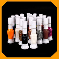 Wholesale AK011 color way nail art polish with brush amp pen varnish