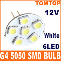 Wholesale 2Pcs set G4 SMD LED Light lamp White Home Car RV Marine Boat spotlight Bulb V H8573